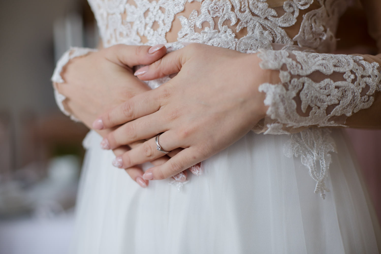 Hochzeit Spitze Verlobungsring