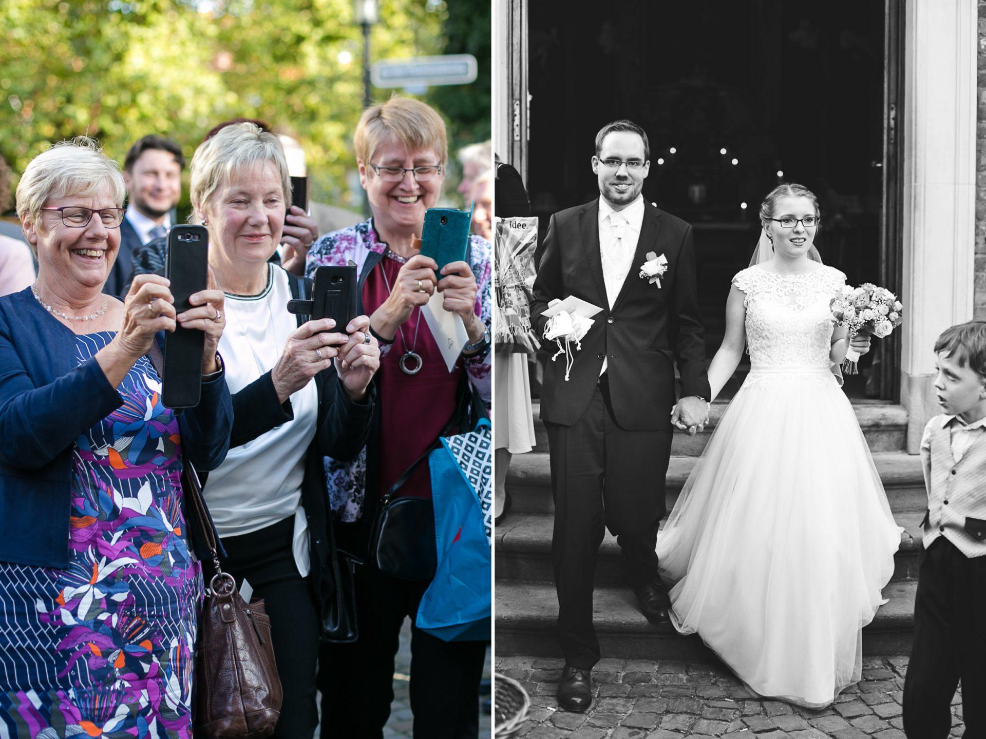 Brautpaar Hochzeit Clemens Kirche Münster