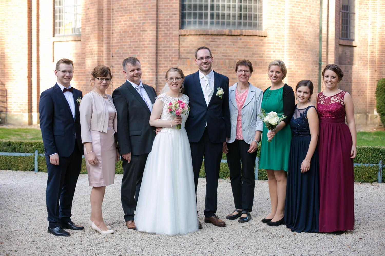 Clemenskirche Münster Hochzeitsfotografie