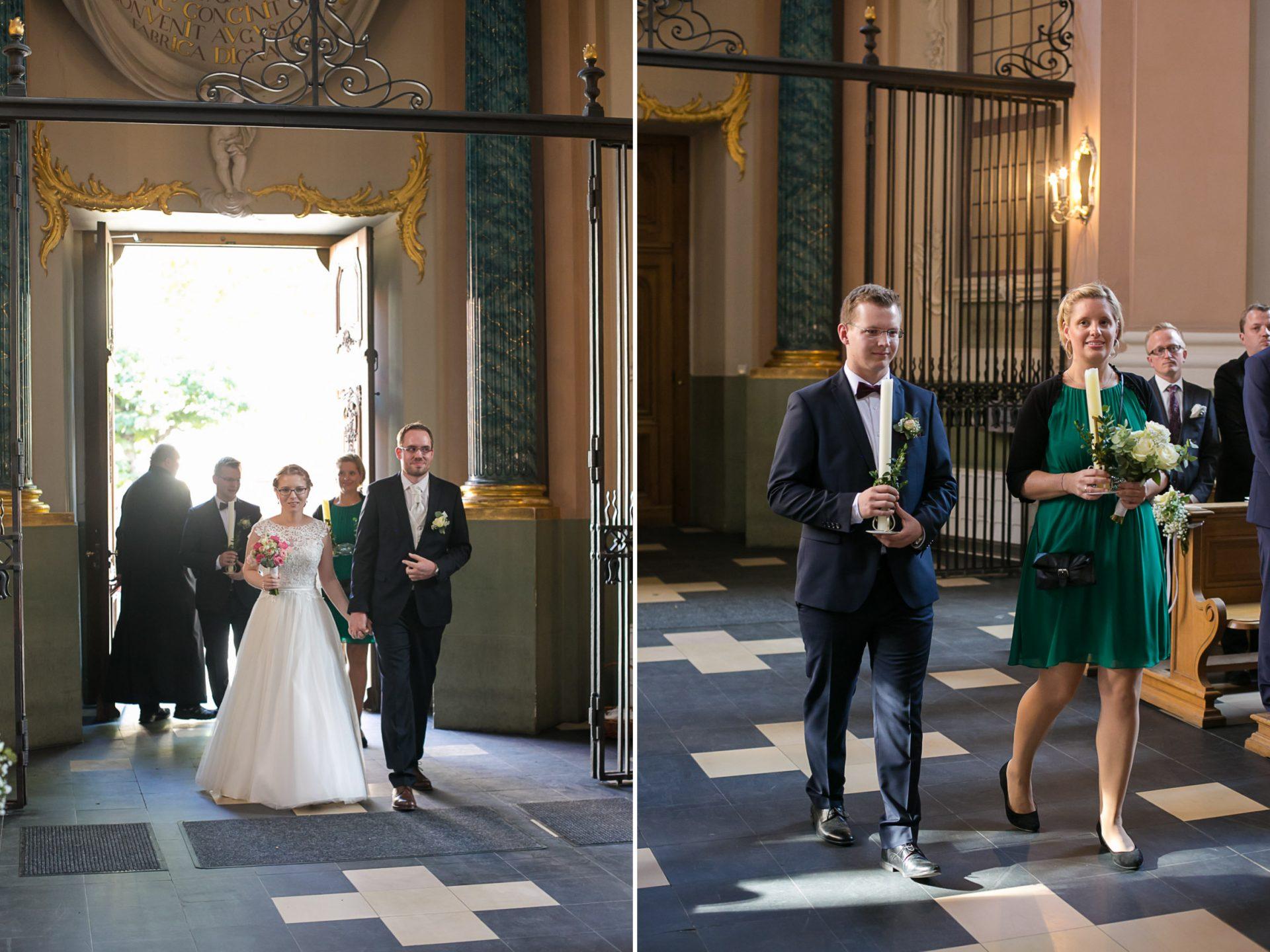 Heiraten in Münster Clemenskirche