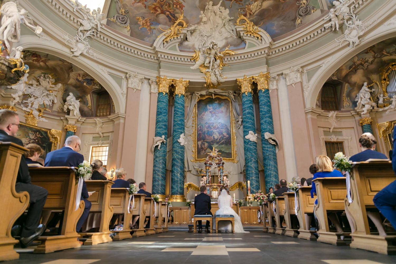 Hochzeit in Clemenskirche in Münster