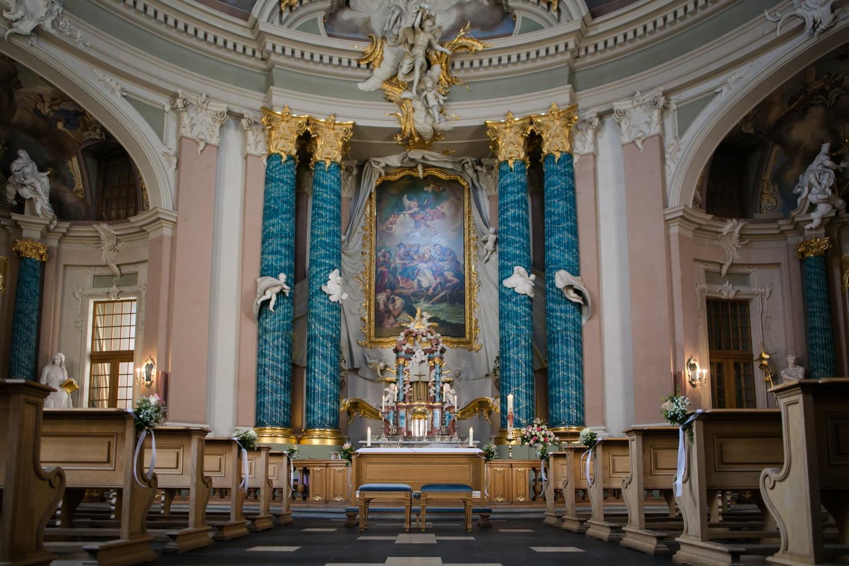 Hochzeit in der Clemenskirche