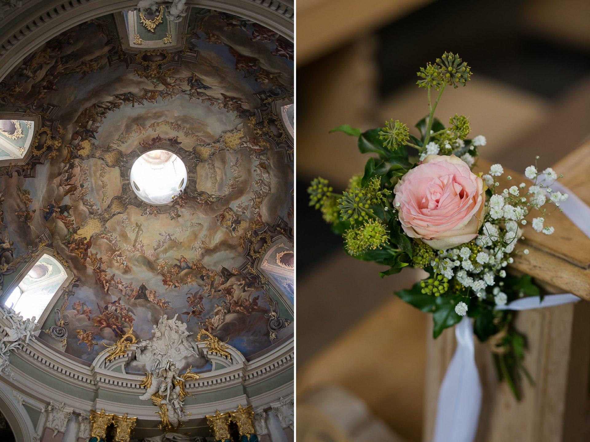 Hochzeitsfoto Clemenskirche