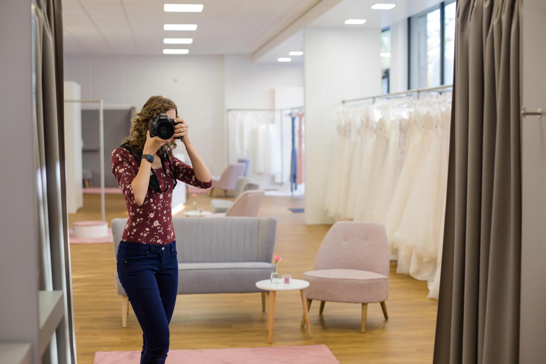 Hochzeitsfotografin Brautkleid Empfehlung