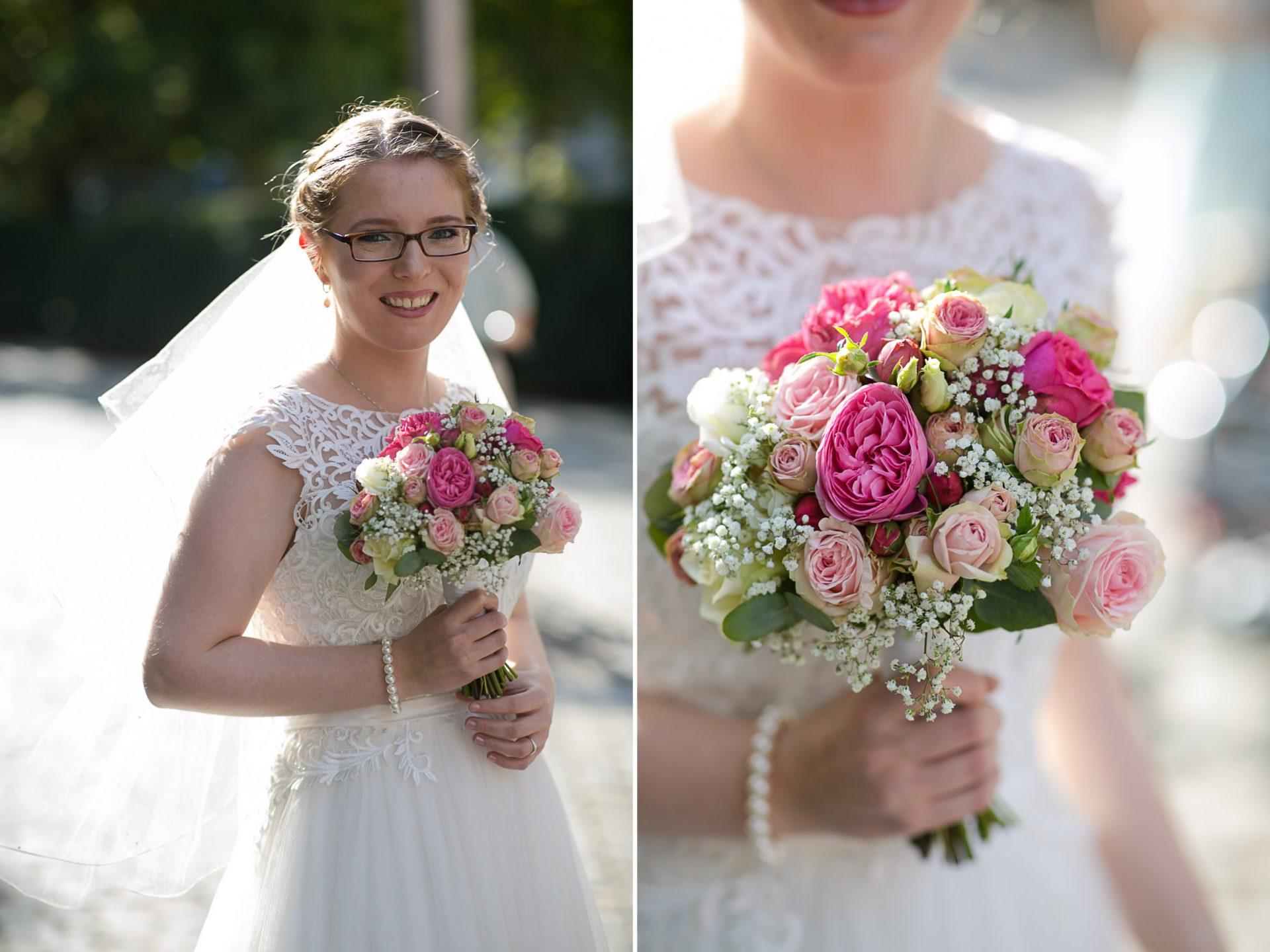 Hochzeitsfotos an der Clemenskirche
