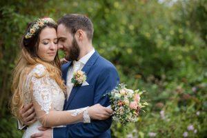 Hochzeit Farbkonzept Apricot