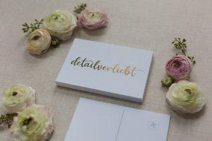 Postkarte detailverliebt
