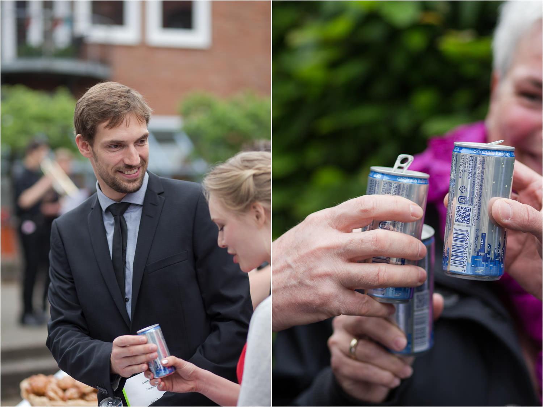 Bilder zur Hochzeit Empfang