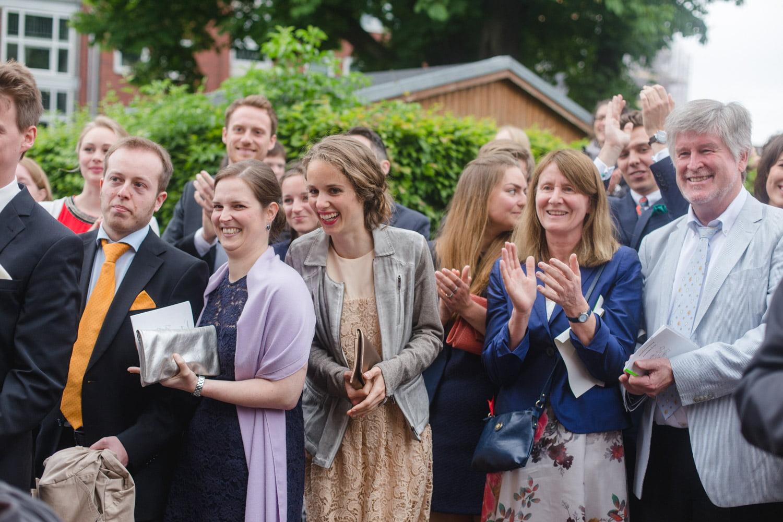 Bilder zur Hochzeit der Gäste