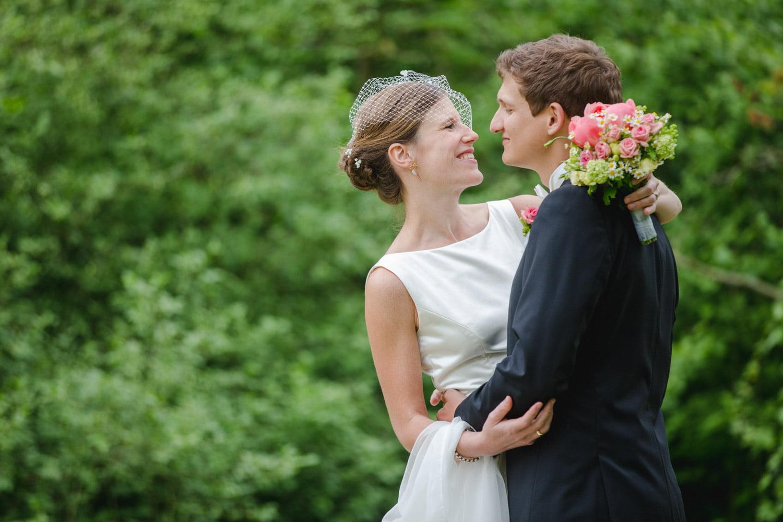 Hochzeitsfoto in Münster