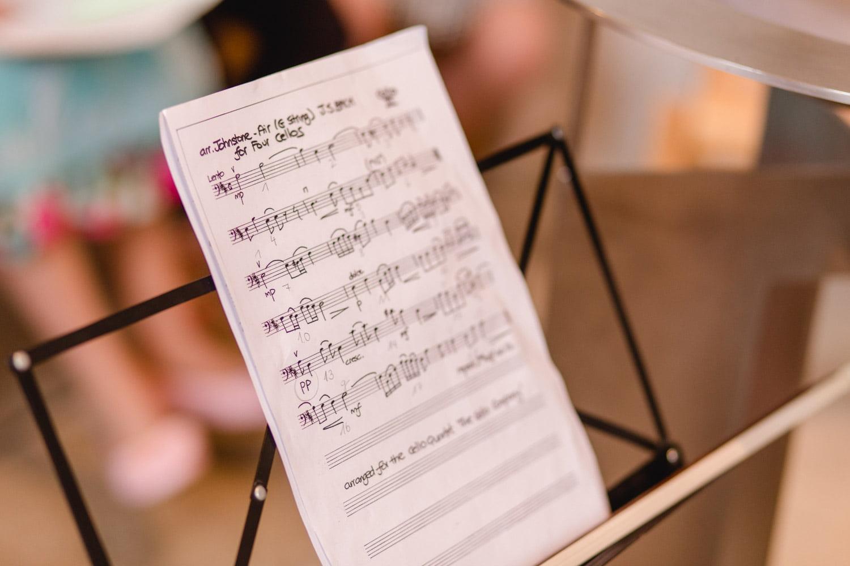 Musik während der Trauung