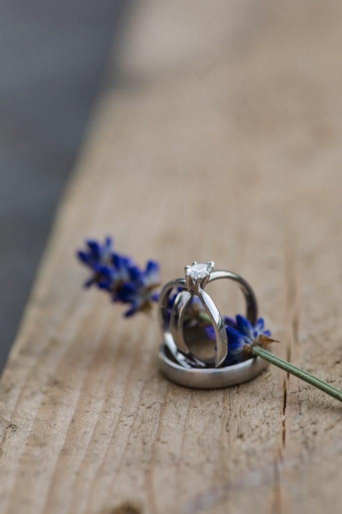 Hochzeit Farbkonzept Lavendel