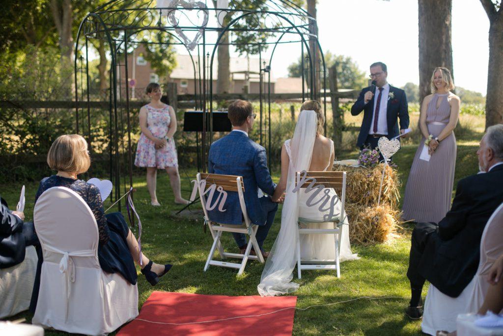 Hochzeit im Garten NRW