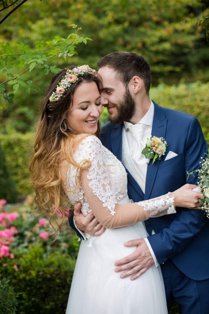 Hochzeitsfoto natürlich und romantisch
