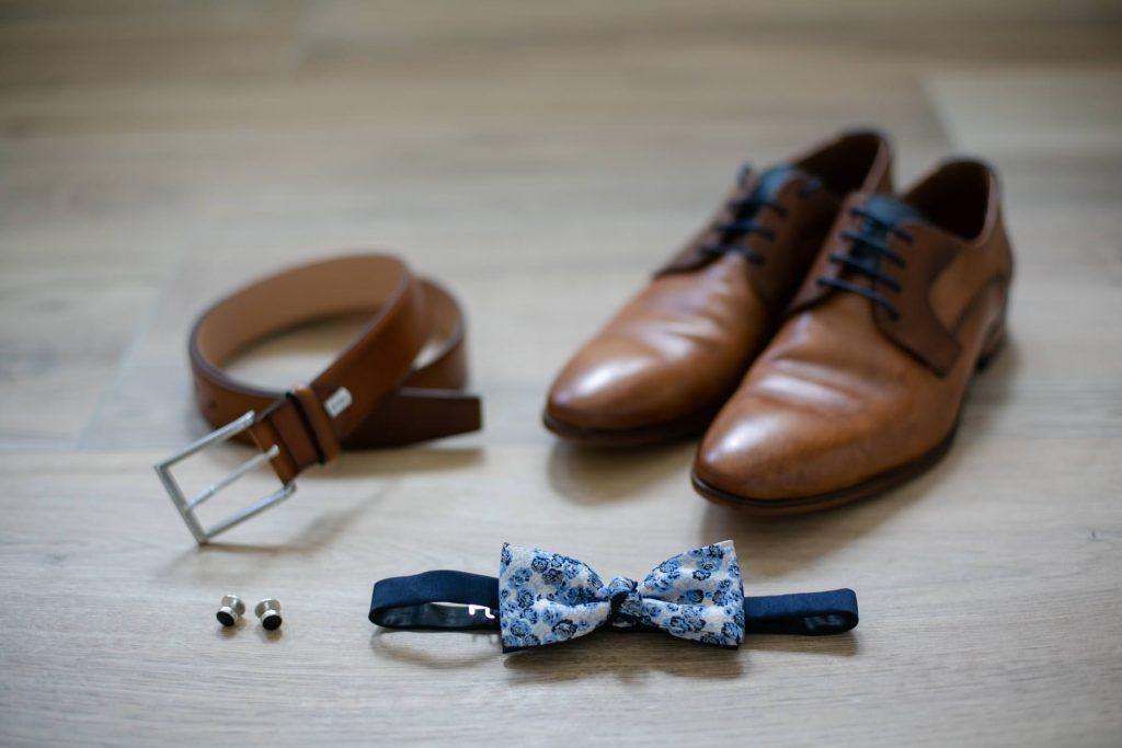 Hochzeit Vorbereitung Bräutigam