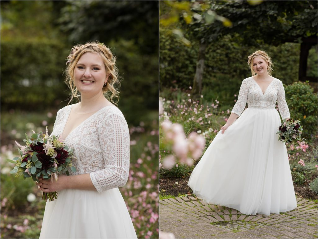 Brautkleid aus Brautraum