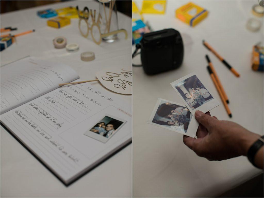 Gästebuch Polaroid