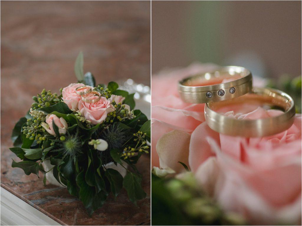 Hochzeit Ringe Details