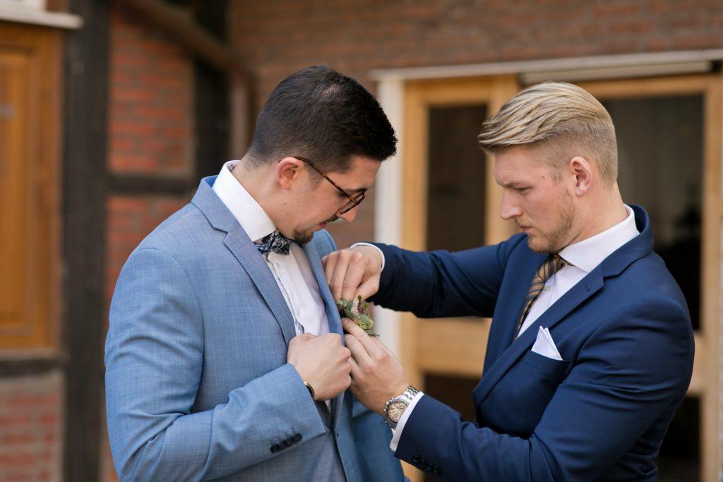 Hochzeit in Münster Bräutigam