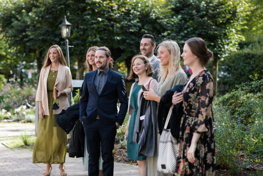 Hochzeit in Münster Gäste