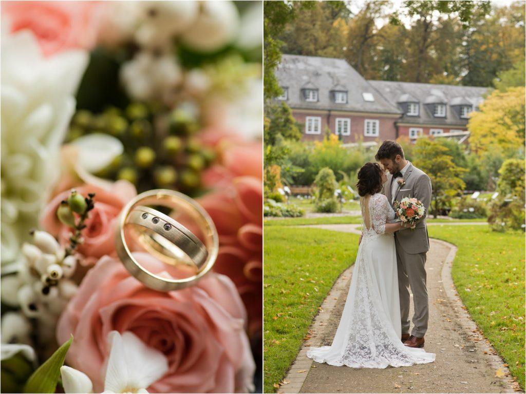 Hochzeitsfotos Botanischer Garten Münster