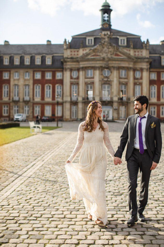 Hochzeitsfotos Schloss Münster