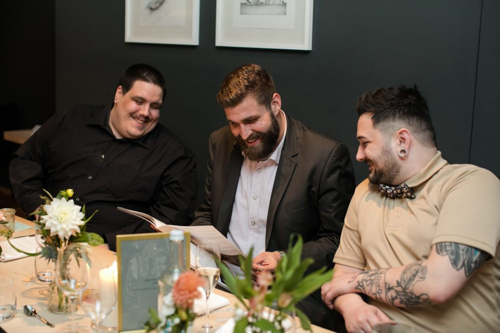 Hochzeitszeitschrift Idee