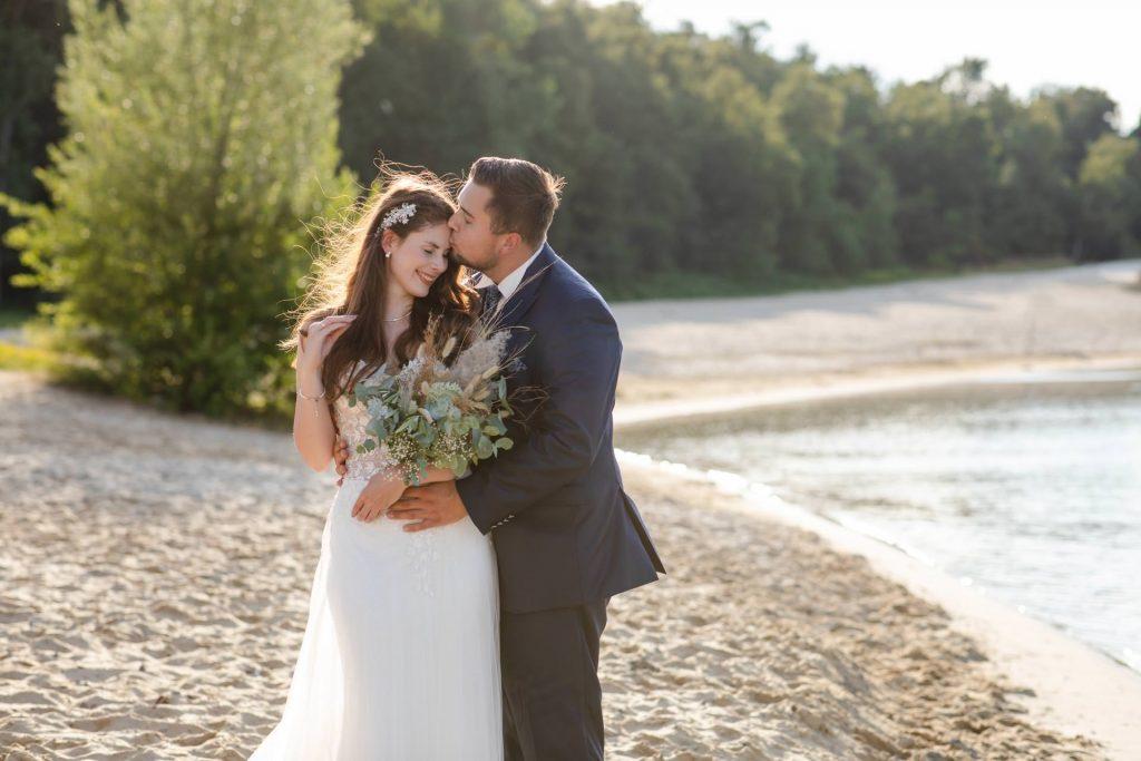 Hochzeitsfotos am Silbersee in Haltern